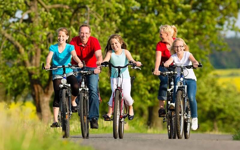 rodinny cyklovylet